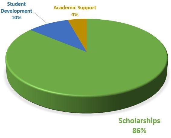 ODI Scholarship Pie Chart