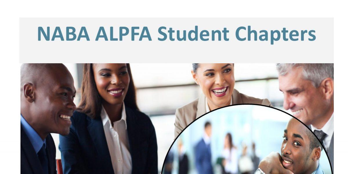NABA & ALPFA Student Chapters