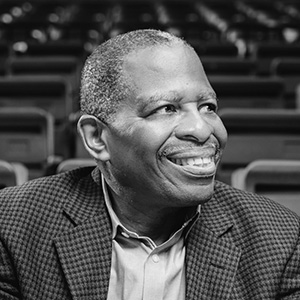 """Image of Patrick """"Pat"""" Harris '70, former Vice President and CFO, Los Angeles Lakers; financial consultant"""