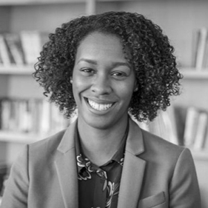 Image of alumna Simone Hill '10, diversity, equity and inclusion strategist at Omidyar Network, a philanthropic investment firm