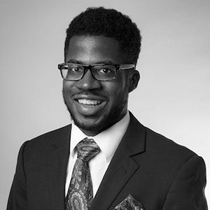 W. Corey Moore, '18 Finance, '20 MS, Higher Education Administration; former RA in UConn's ScHOLA2RS